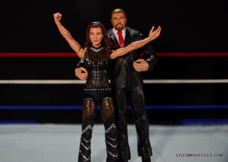 Mattel WWE Elite 37 Stephanie McMahon -Triple H and Stephanie