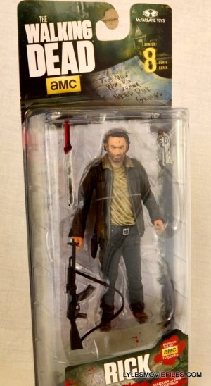 McFarlane Toys Walking Dead Rick Grimes Series 8 -front package
