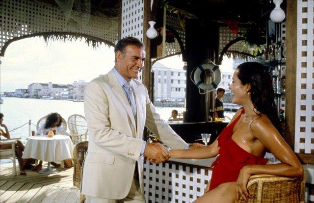 Never Say Never Again - Bond and Fatima Blush