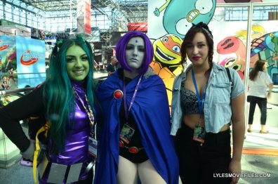 New York Comic Con 2015 cosplay - Beast Girl and Raven