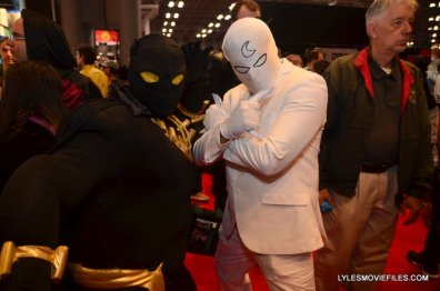 New York Comic Con 2015 cosplay - Black Panther and Moon Knight