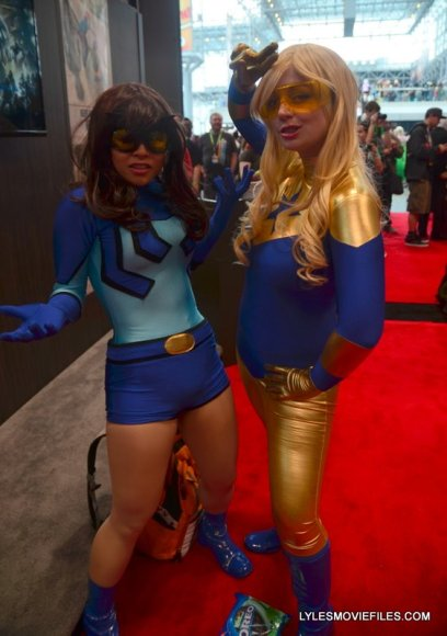 New York Comic Con 2015 cosplay - Blue Beetle and Booster Gold