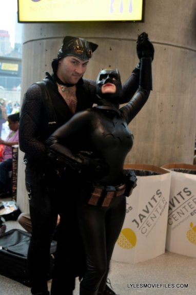 New York Comic Con 2015 cosplay - Catman and Batwoman