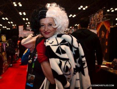 New York Comic Con 2015 cosplay -Cruella de Ville
