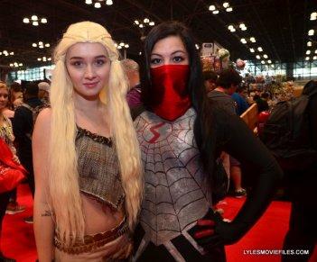 New York Comic Con 2015 cosplay - Danerys and Silk