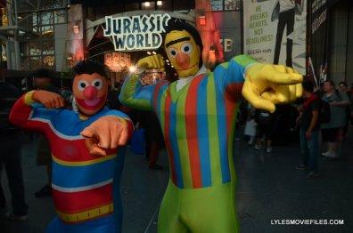 New York Comic Con 2015 cosplay - Ernie and Bert