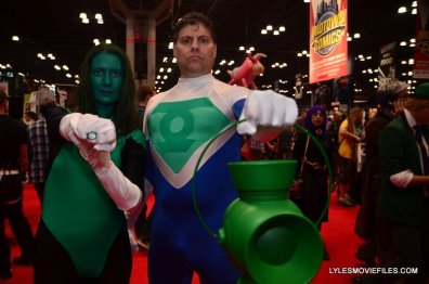 New York Comic Con 2015 cosplay - Green Lanterns