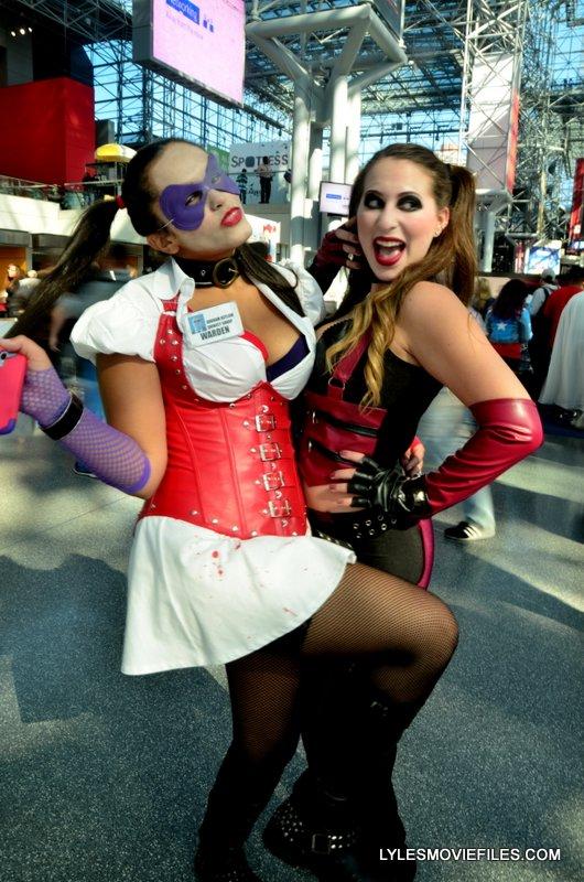 New York Comic Con 2015 cosplay - Harley and Harley 2