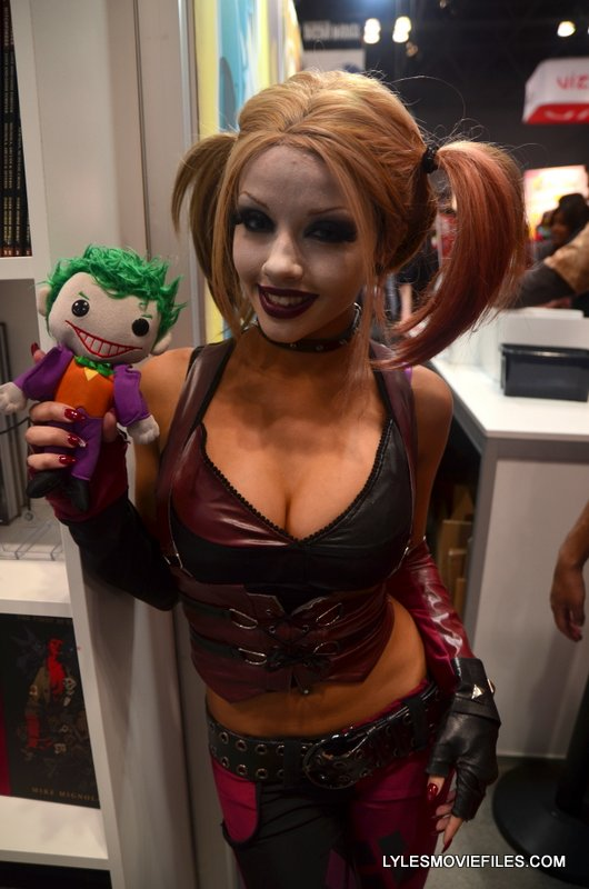 New York Comic Con 2015 cosplay -Harley Arkham
