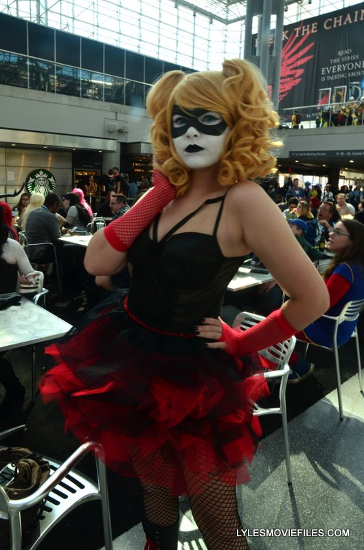 New York Comic Con 2015 cosplay - Harley fishnets
