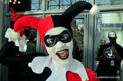 New York Comic Con 2015 cosplay -Harley Quinn close up