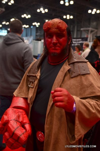 New York Comic Con 2015 cosplay -Hellboy