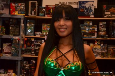 New York Comic Con 2015 cosplay - Jade Mortal Kombat 2
