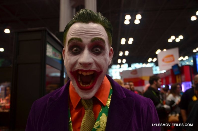 New York Comic Con 2015 cosplay -Joker closeup