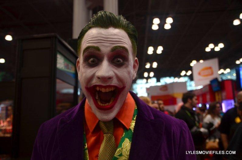 New York Comic Con 2015 cosplay -Joker closeup