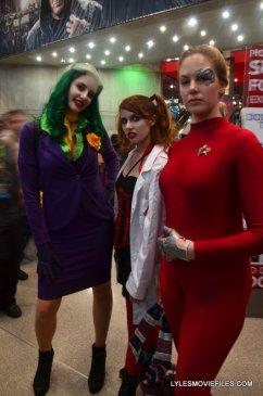 New York Comic Con 2015 cosplay -Joker, Doc Quinzel and Seven of Nines