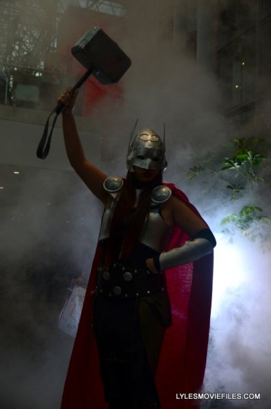 New York Comic Con 2015 cosplay - Lady Thor