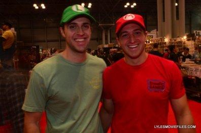 New York Comic Con 2015 cosplay - Lugi and Mario brothers