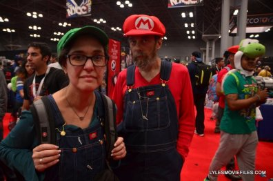 New York Comic Con 2015 cosplay - Luigi and Mario