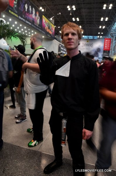 New York Comic Con 2015 cosplay - Luke Skywalker