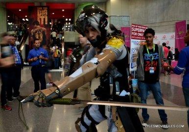 New York Comic Con 2015 cosplay - Metal Gear Solid 2 Raiden
