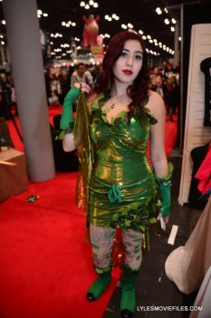 New York Comic Con 2015 cosplay - Poison Ivy standing