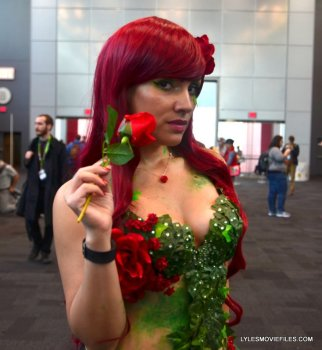 New York Comic Con 2015 cosplay - Poison Ivy
