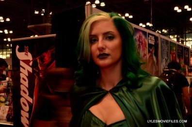 New York Comic Con 2015 cosplay - Polaris cape