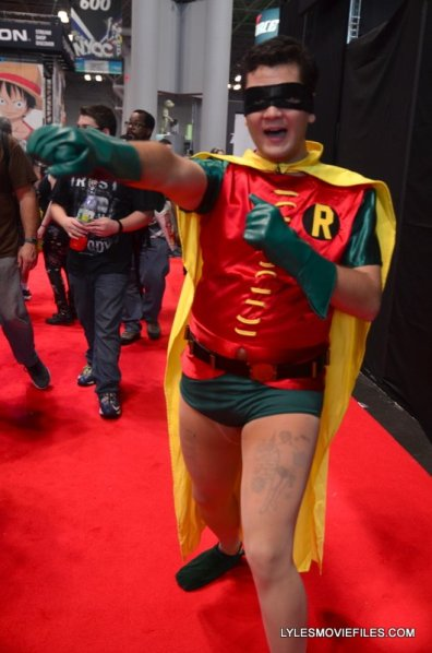 New York Comic Con 2015 cosplay - Robin