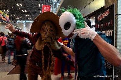 New York Comic Con 2015 cosplay - Scarecrow and Joker Court of Owls