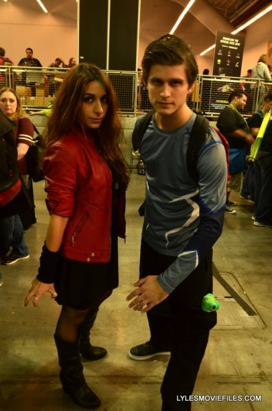 New York Comic Con 2015 cosplay - Scarlett Witch and Quicksilver