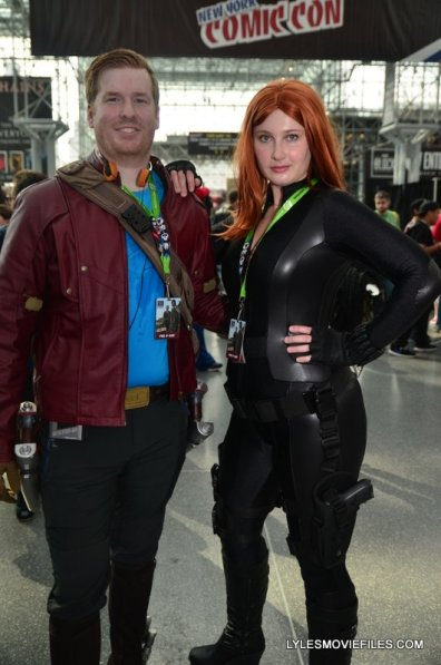New York Comic Con 2015 cosplay - Star Lord and Black Widow
