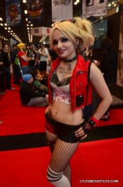New York Comic Con 2015 cosplay - Suicide Squad Harley