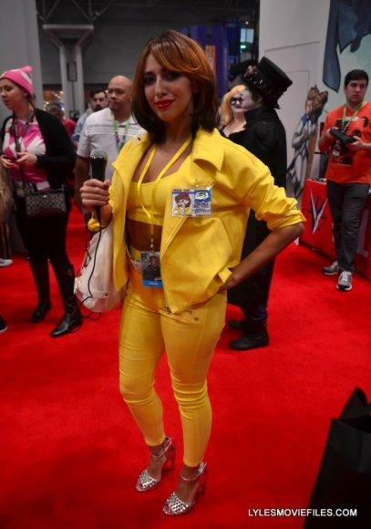 New York Comic Con 2015 cosplay - Teenage Mutant Ninja Turtles April O'Neil