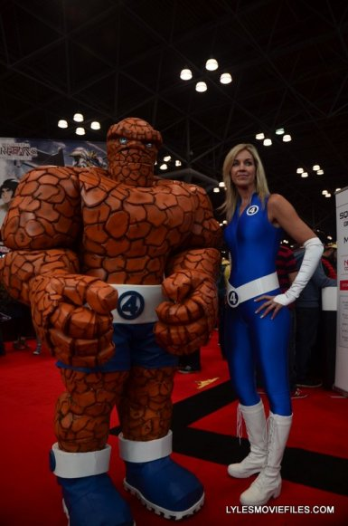 New York Comic Con 2015 cosplay - The Thing and Invisible Woman