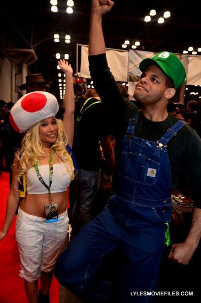 New York Comic Con 2015 cosplay - Toad and Luigi