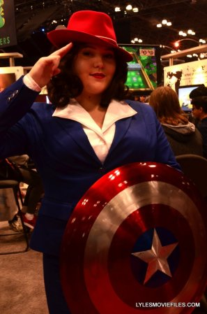 New York Comic Con cosplay - Agent Carter