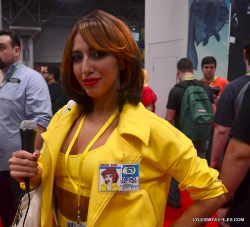 New York Comic Con cosplay - April O'Neil teenage mutant ninja turtles