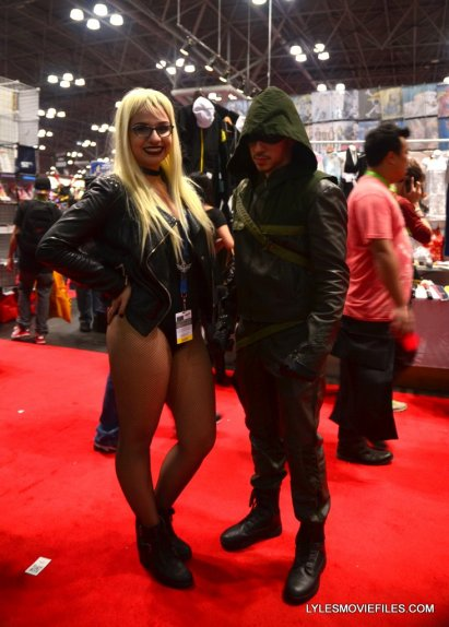 New York Comic Con cosplay - Arrow and Black Canary