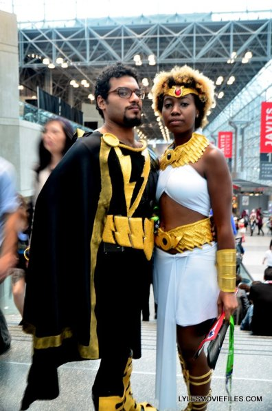 New York Comic Con cosplay - Black Adam and Isis