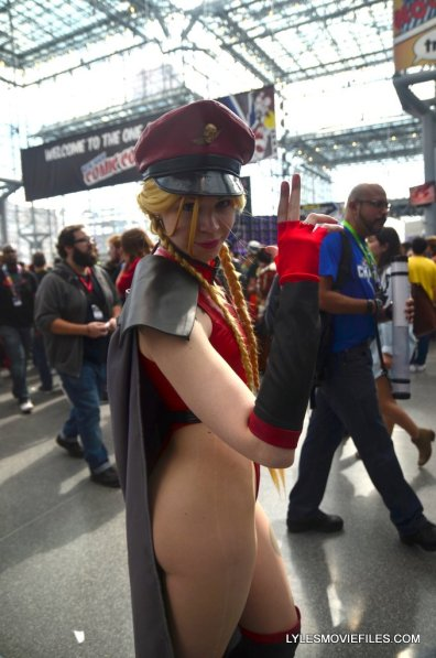 New York Comic Con cosplay - Cammy Bison Mississippi