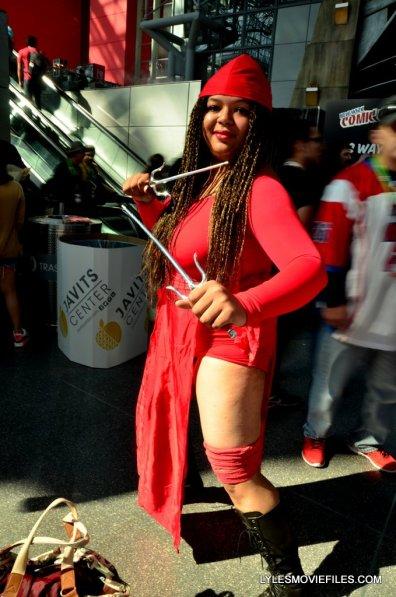 New York Comic Con cosplay - Elektra