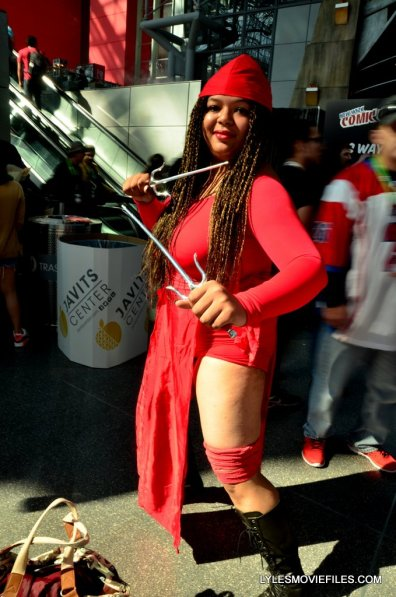 New York Comic Con cosplay - Elektra