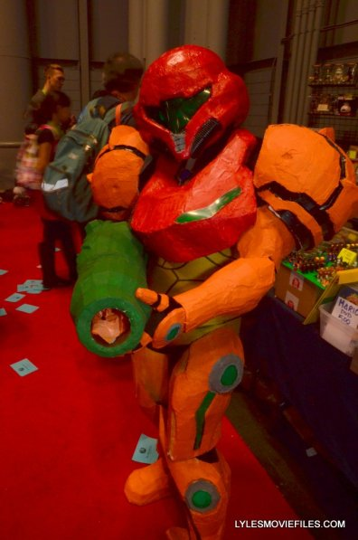 New York Comic Con cosplay - Metroid