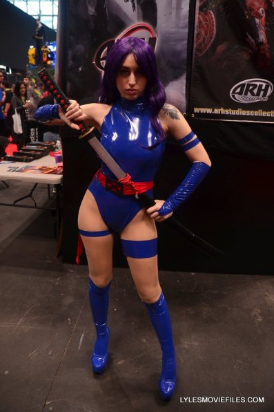 New York Comic Con cosplay - Psylocke
