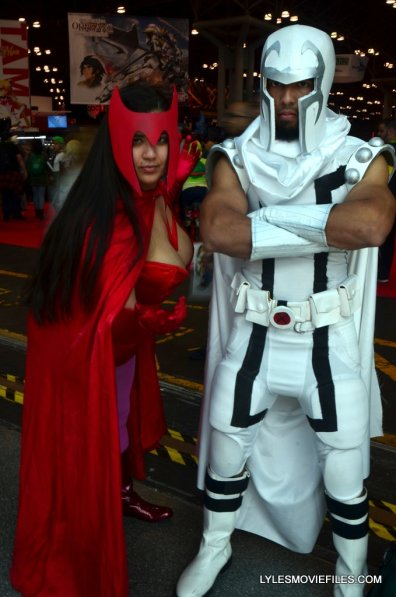 New York Comic Con cosplay - Scarlet Witch and Magneto