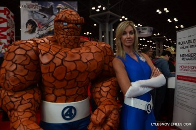 New York Comic Con cosplay - Thing and Invisible Woman