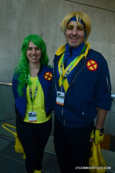 New York Comic Con cosplay -X-Factor Polaris and Havok