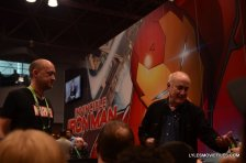 NYCC'15 - Jeph Loeb signing at Marvel panel