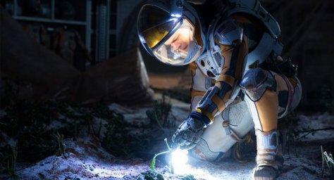The Martian -Mark Watney in the garden